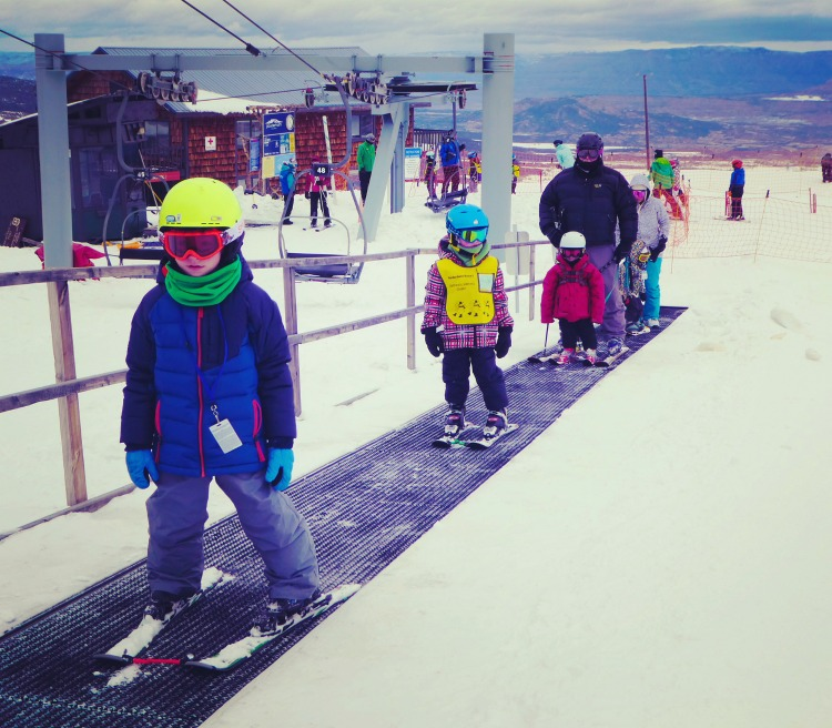 Powderhorn ski resort has ski school for kids, short wait lines for the chairlift, and more affordable lift tickets than other ski areas in Colorado.