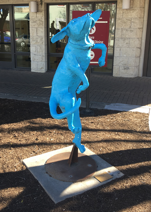 Visit Georgetown, Texas to see public art a the Georgetown Art Center, Courthouse Square, and Georgetown Public Library. | Things to do in Georgetown Texas |