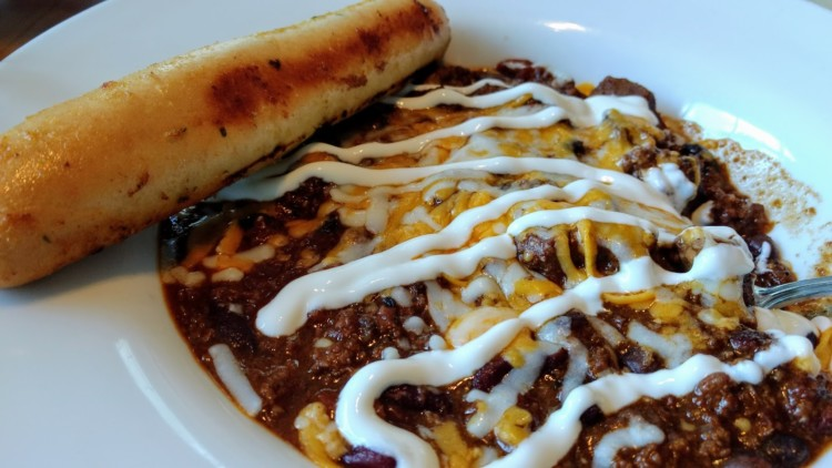 The chili at Panorama's T-Bar is a must.