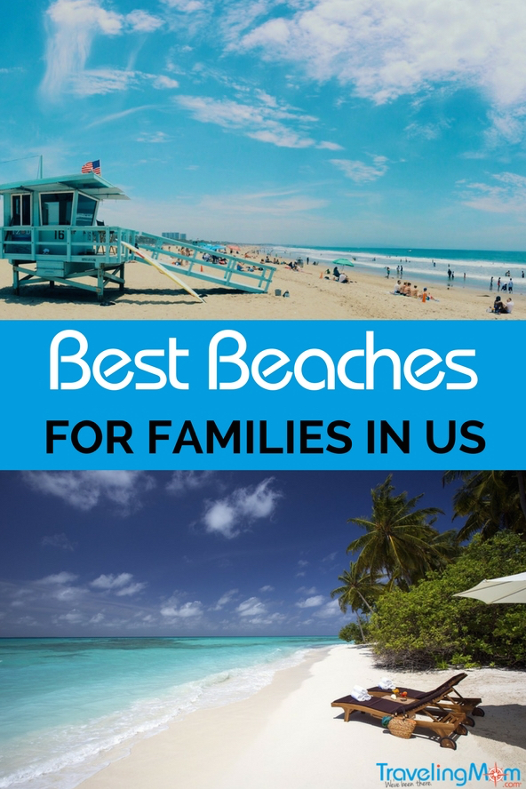 The best beaches for families in the US? Pulled together a list with different types of beaches, likes the best beaches to watch animals or the best beaches to shell along with the best white sand beaches.