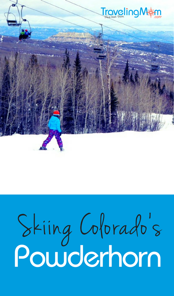 Powderhorn ski resort is an excellent Colorado ski mountain option for families looking for a more affordable ski experience. This smaller ski resort has cheaper lift tickets, shorter lines, and a great ski school for kids.
