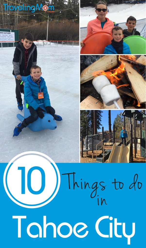 Tahoe City offers lots of winter fun for the whole family that doesn't require a lift ticket.
