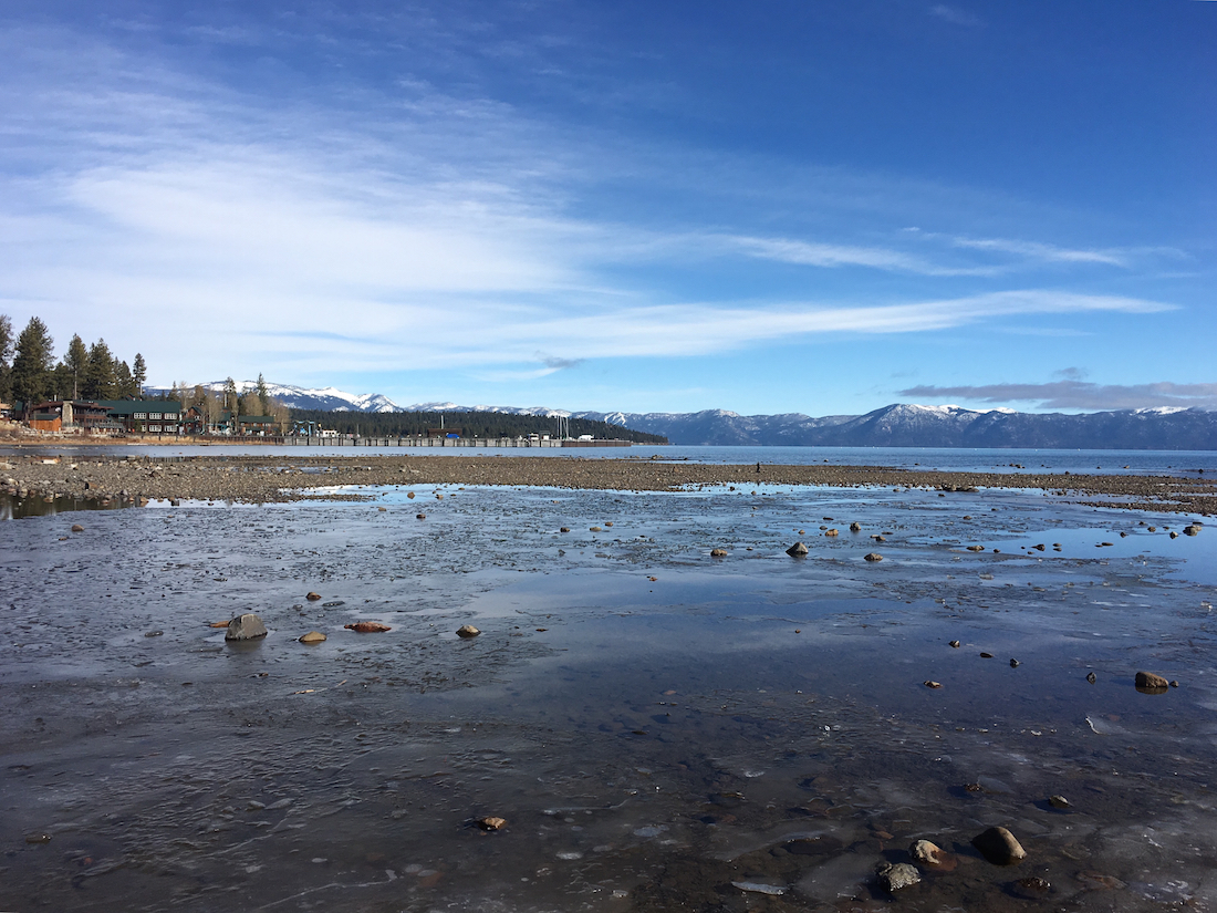 Tahoe City, California, offers families lots of winter activities like sledding, snow shoeing, ice skating, shopping and a movie theater.