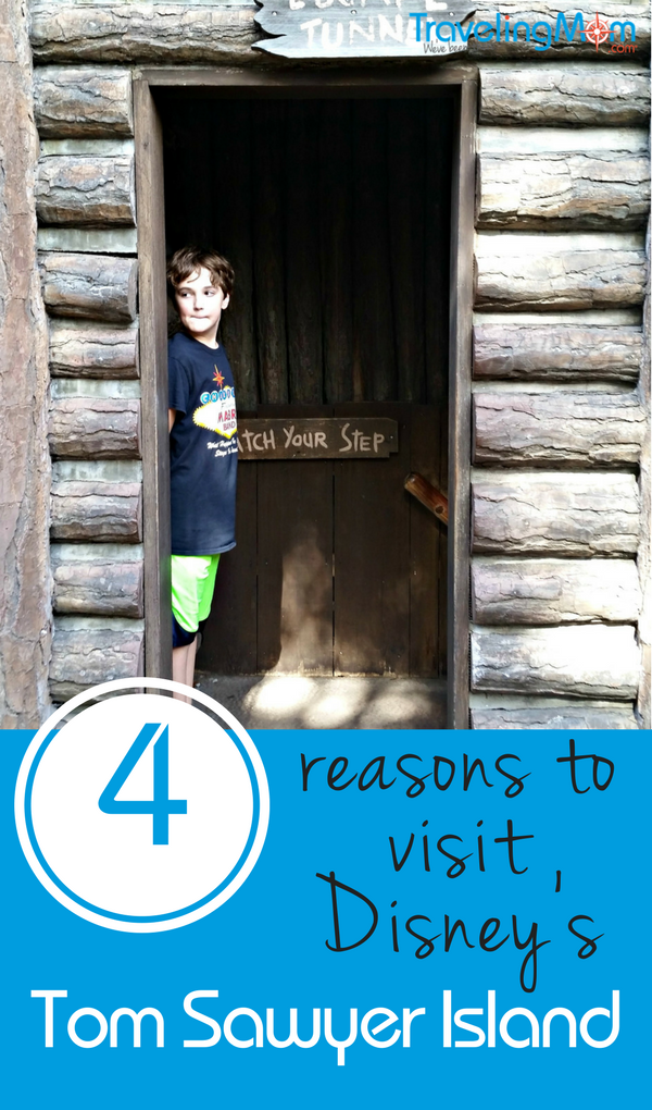 Have you ever visited Walt Disney World's Tom Sawyer Island? Here are 4 compelling reasons why it might be your family's new favorite attraction!