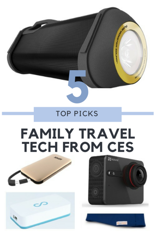 Top 5 Family Travel Tech at CES, Family Travel Tech to make your travels easier and more streamlined. See why these are the winners in my book!