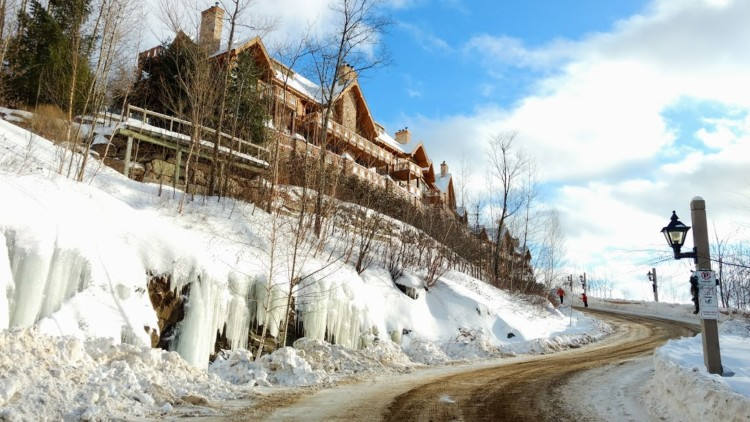 Accommodations outside of Tremblant village, as part of our Tremblant Winter Activity Guide