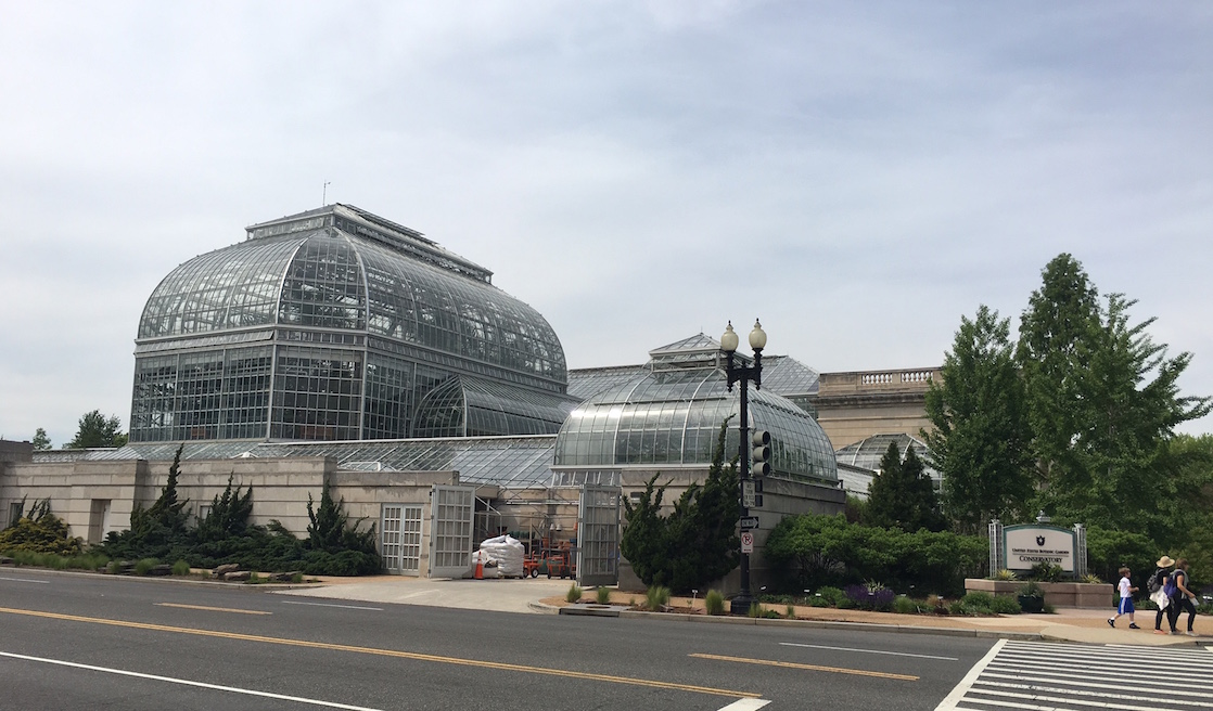 Greenhouse gases, hothouse history and more at D.C.'s Botanical Gardens!