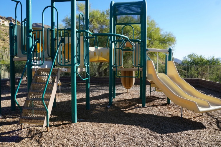 Loews Ventana Canyon Resort has a children's playground on property, which is one of the reasons why it's a family friendly resort in Tucson, Arizona. Photo by Multidimensional TravelingMom, Kristi Mehes.