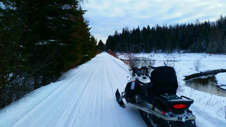 Booking a snowmobile tour at Tremblant is easy and one of many things to do in our Tremblant Winter Activity Guide!