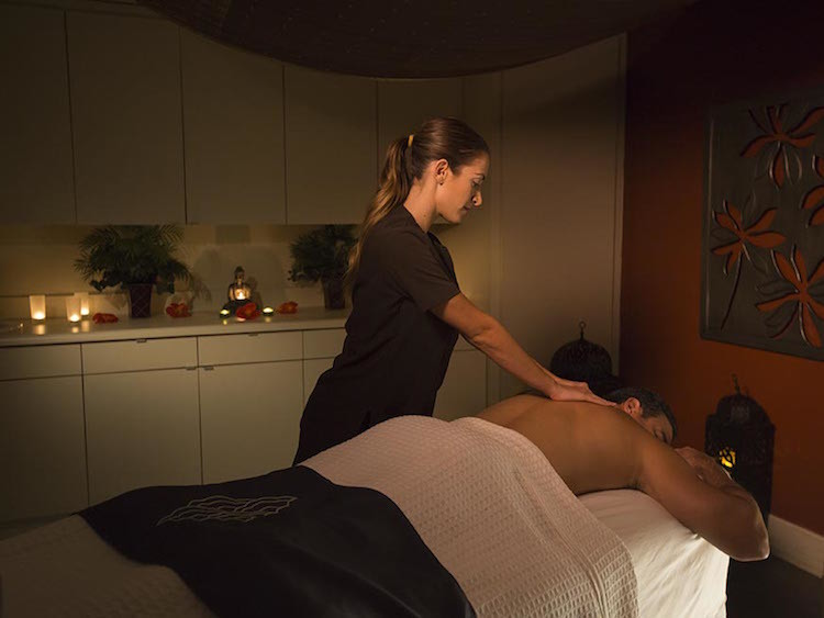 Enjoy a relaxing massage while staying at Loews Portofino Bay Hotel in Universal Orlando