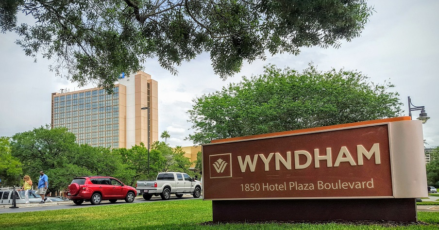 """Wyndham Lake Buena Vista is an """"off property"""" hotel, according to the Disney glossary."""