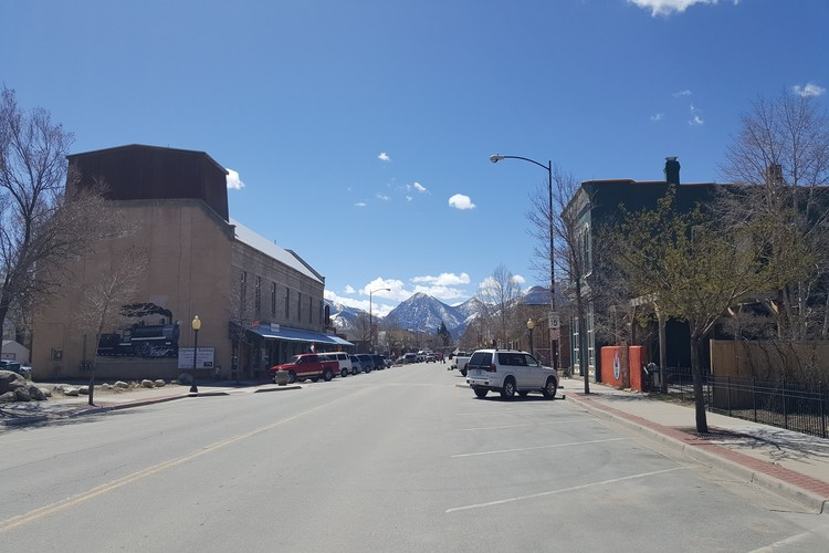 The quiet Buena Vista downtown area in off-season is perfect for a couples getaway.