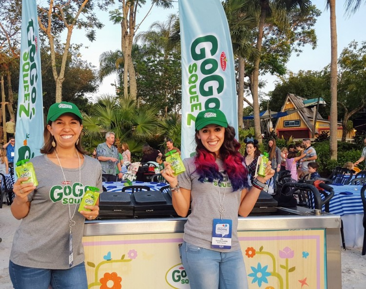 GoGo Squeez applesauce is an option for cheap food at Disney World.