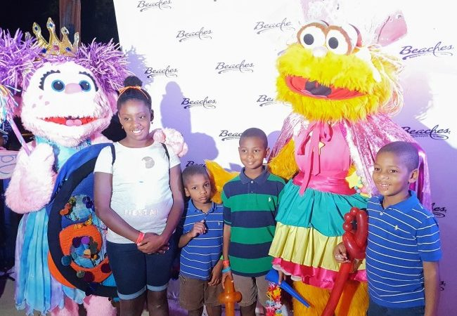 Beaches Negril offers Sesame Street character meet and greets with their Kids Club.