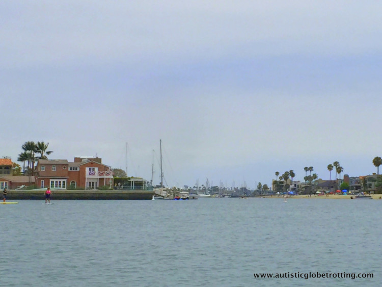 Exploring Long Beach California with Kids led to an exciting gondola trip!