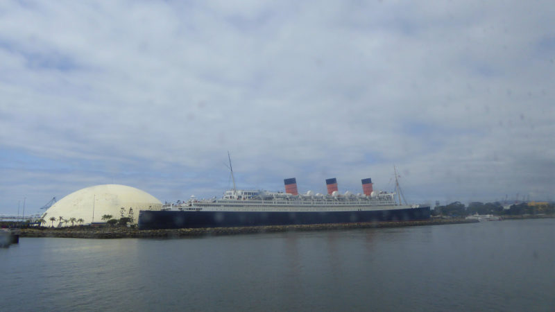 Exploring Long Beach California with Kids will mean time on the Queen Mary.