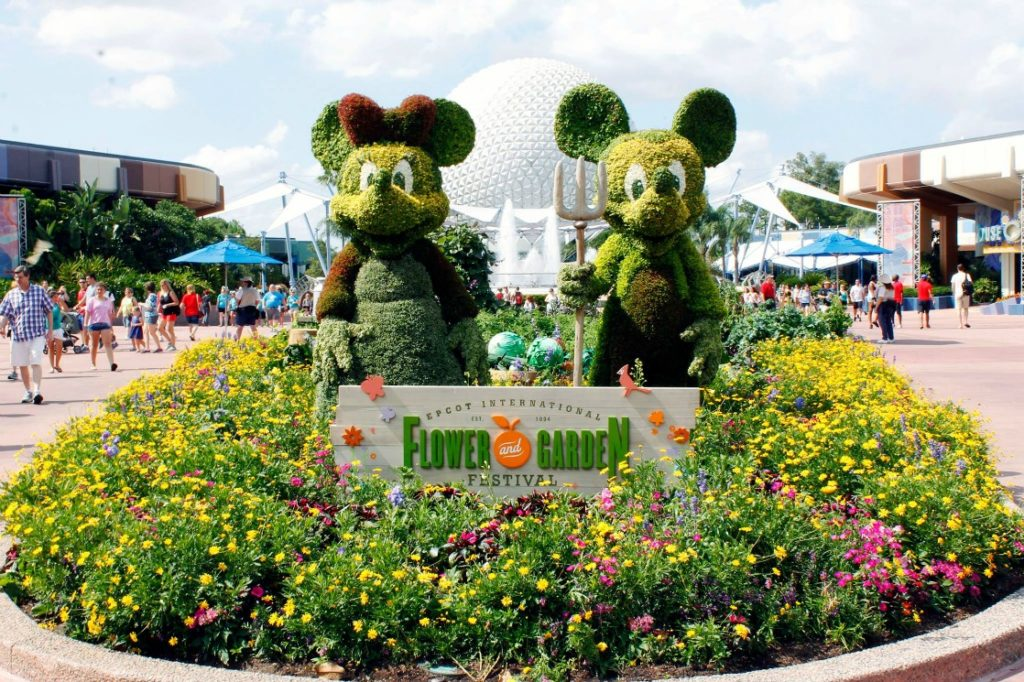 Ask a TravelingMom: Planning a family vacation to Disney World? March is a great month to visit, especially because of the Epcot International Flower & Garden Festival!