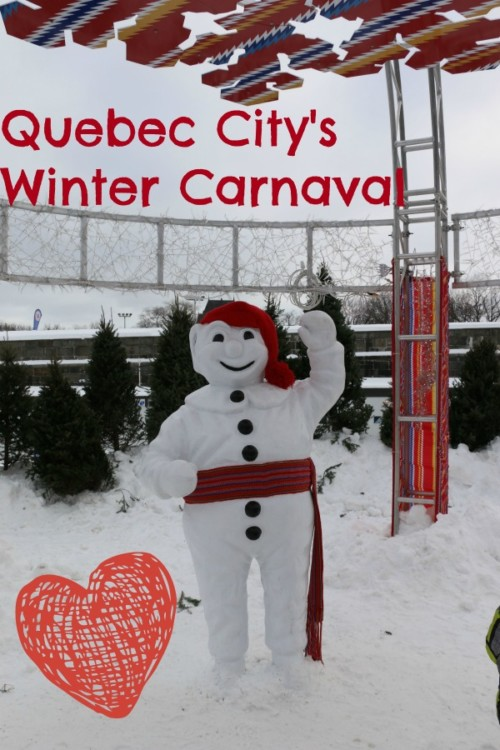 Winter Carnaval in Quebec City is two weeks of games and gatherings on ice! Read why your family should visit of this walled city, 20 miles over the border.
