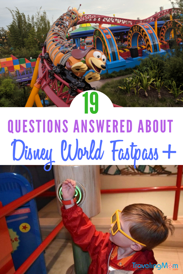 What is Fastpass+? How does it work? What attractions is it good for? All your questions are answered in this ultimate guide to Disney World Fastpass+. #TMOM #TMOMDisney #DisneyWorld #Disneyfastpass #Disney
