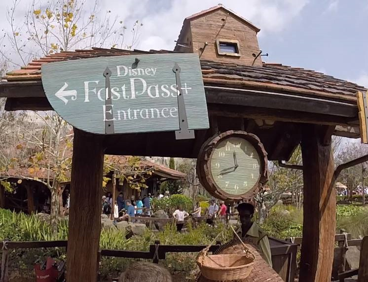 How does fastpass+ work? It lets Guests pre-book fastpasses cutting wait times in half.