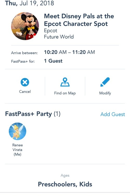 Disney fastpass tips - It's easy to modify or cancel a Fastpass+ using the My Disney Experience app.
