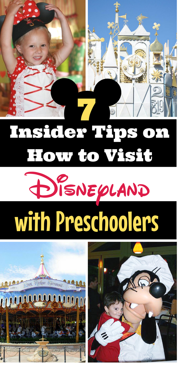 Disneyland with Preschoolers? Here are 7 insider tips for having a meltdown-free, magical vacation!
