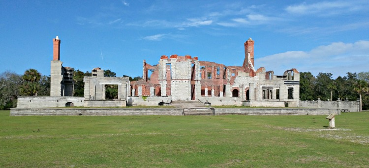 There is still beauty in the ruins of the Carnegie Dungeness mansion on Georgia's Cumberland Island.