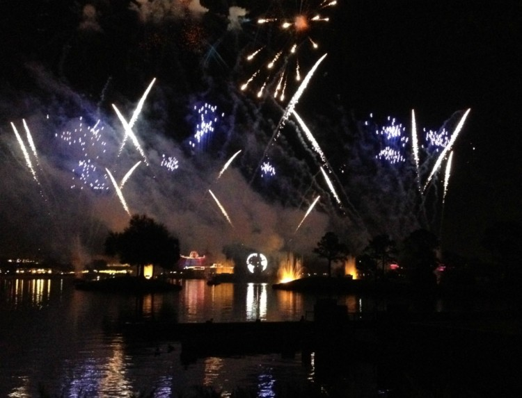 Night illuminations at Disney and you can see them by following a schedule to get the most out of one day at Epcot.