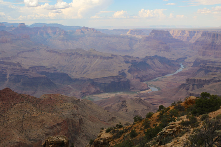 Top Teen Destinations like the Grand Canyon are great for family vacationers.