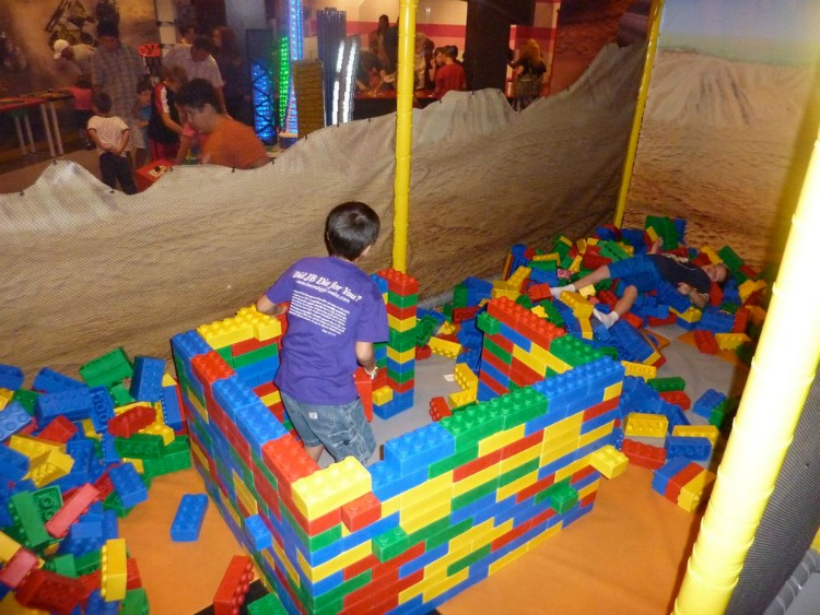 Build and play at LEGOLAND - one of the best things to do in Grapevine.