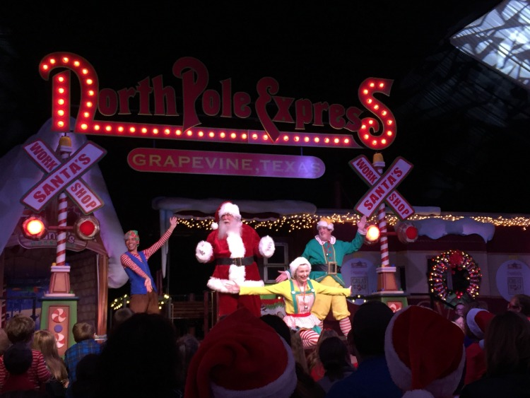 If you're looking for fun things to do in Grapevine, try a holiday ride on the North Pole Express.