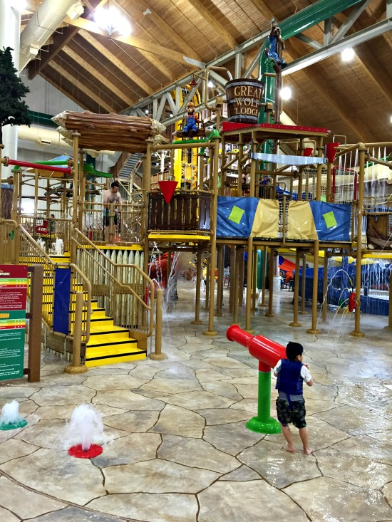 Great Wolf Lodge has opened a new family resort with indoor water park at Colorado Springs, Colorado. This location also has an adventure park with climbing wall, mini golf, mining for gems, high ropes course, and more. It's a very fun family vacation destination!