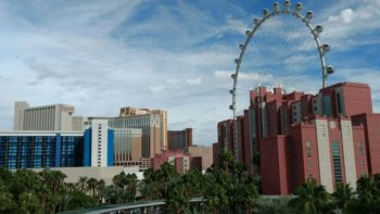 The Hilton Grand Vacation Suites at the Flamingo is a Las Vegas family hotel adjacent to the High Roller.