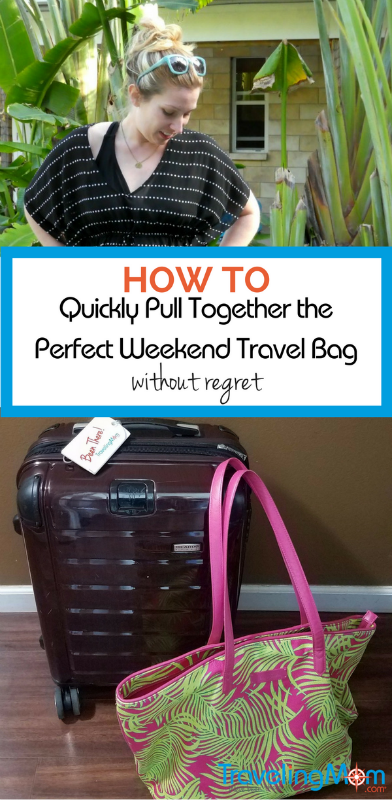 Packing is never the fun part of travel. These 10 must-pack items will ensure you arrive at a weekend trip with essentials you need, even if you pack at the last minute.