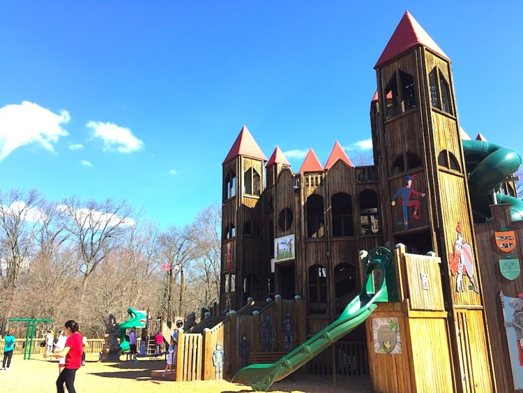 Fun for kids in Bucks County, Pennsylvania are this playground, children's museums, and the riverfront.
