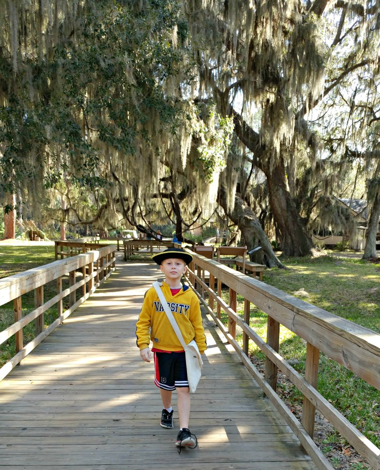 Experience the Junior Ranger program at your national park! Fort Frederica National Monument on St. Simons Island has an award winning program.