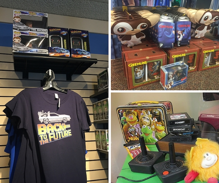 Kings Island tips include visiting the 80's themed gift shop.