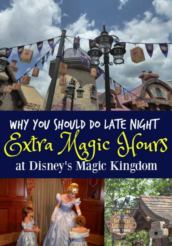 how to get magic hours at disney world