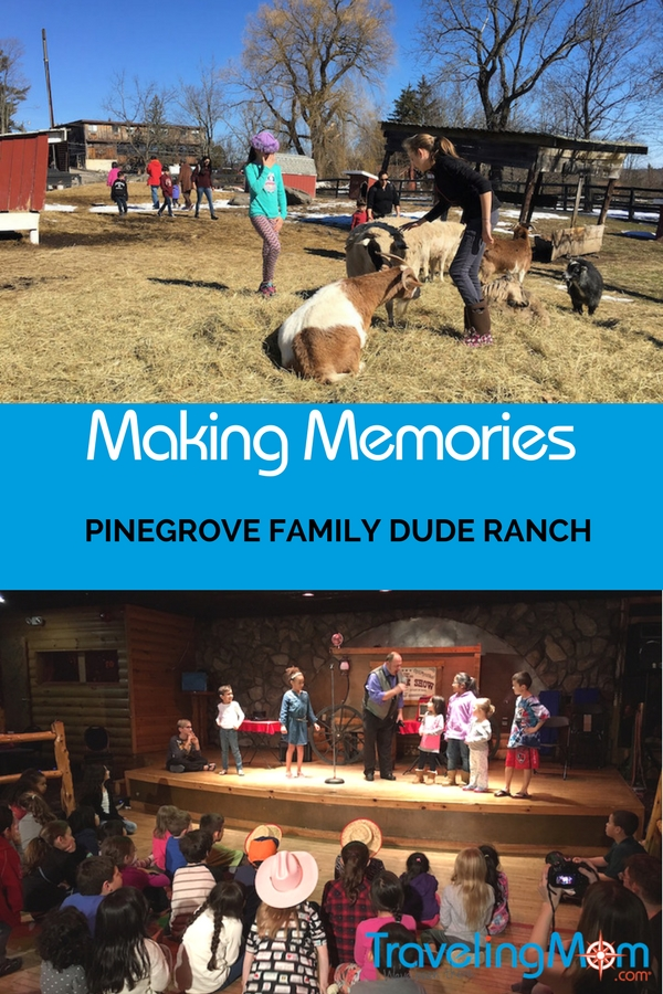 Make Memories at Pinegrove Family Dude Ranch. From horseback riding to snow tubing, there's plenty for the entire family to do together.