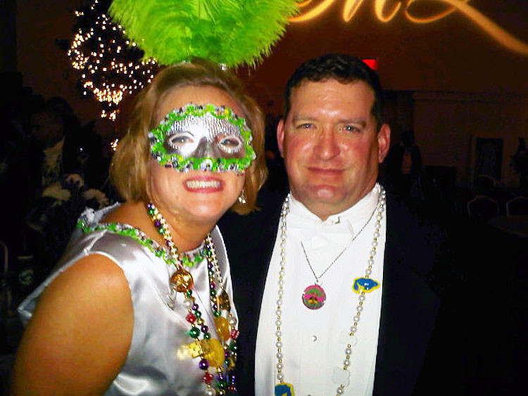 Mobile Alabama Mardi Gras has the best balls.