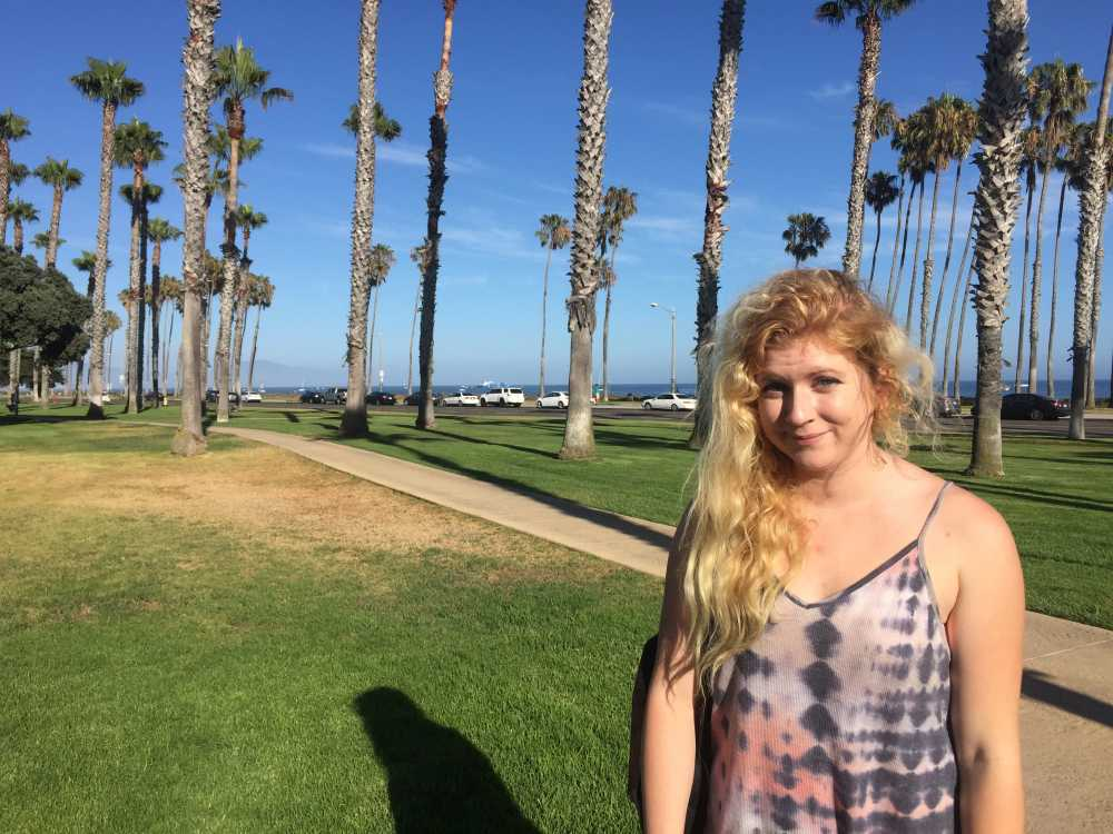 Santa Barbara's East Beach is across the street from the Fess Parker Resort.