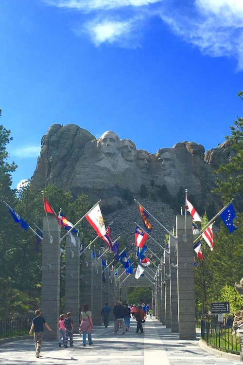 Mt Rushmore offers a top teen destination.