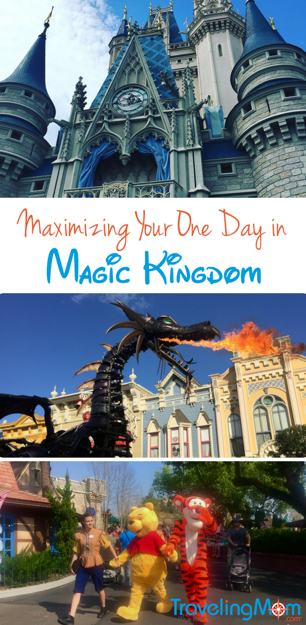 Maximizing your one day at Disney World's Magic Kingdom? Hakuna matata--no worries! Check out this optimal Disney touring plan, with tips on ADR dining reservations, how to reduce wait times, choosing your FastPass+ attractions, and what to not miss during your visit to this fabulous Orlando theme park.