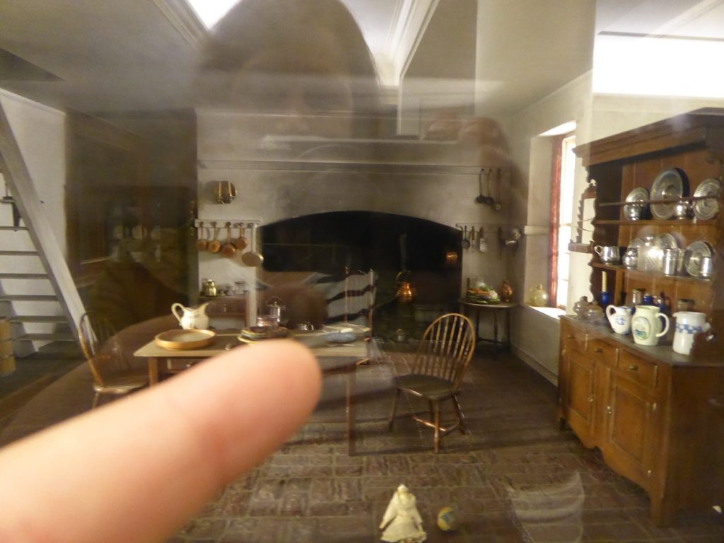 The Thorne Miniature Rooms at the Art Institute of Chicago is filled with tiny details.