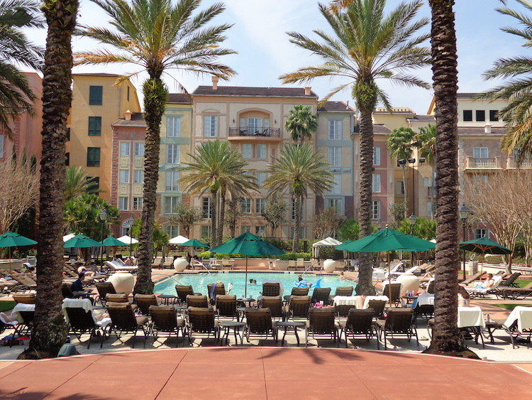 Loews Portofino Bay Hotel at Universal Orlando is great for an adult getaway!
