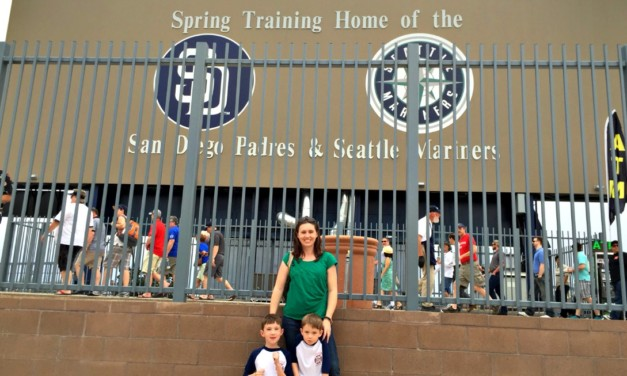 Family Fun at Spring Training in Peoria