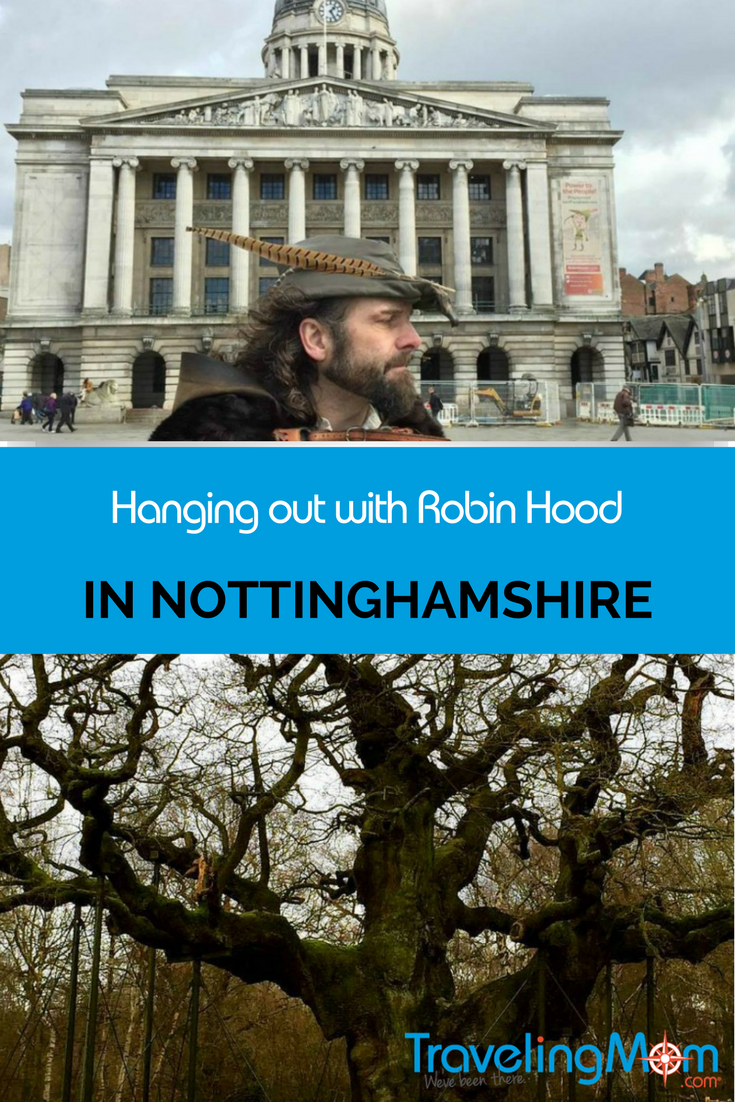 Man or myth? Walk in Robin Hood's legendary footsteps as your tour Nottingham, England.