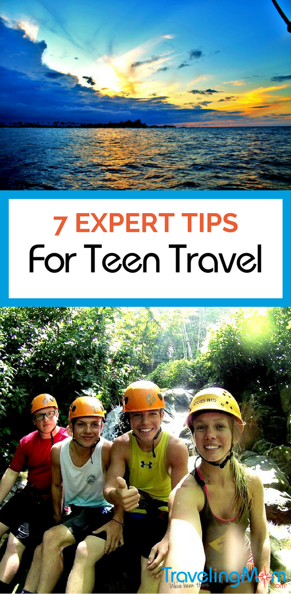 Teens traveling alone, whether nationally or abroad, can be a scary prospect for parents. Read on for 7 expert tips on Teen Travel to unknown locales.