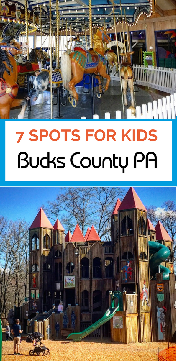 Fun for kids in Bucks County, Pennsylvania is all year-round