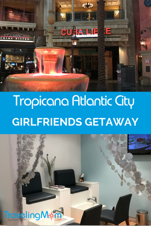 Atlantic City Girls Getaway awaits you at The Tropicana Resort. No matter what time of year you visit, there is fun at The Trop in Atlantic City. Bet on it!